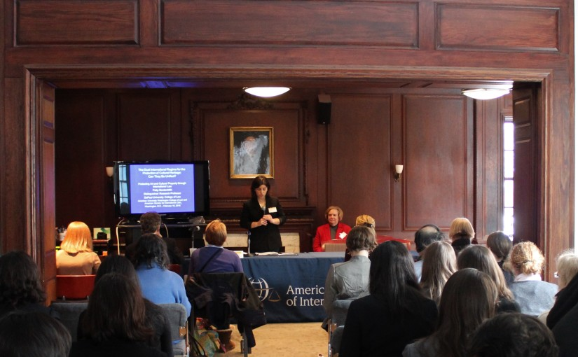 Symposium Opening Keynote: Professor Patty Gerstenblith on Looting and ArmedConflict